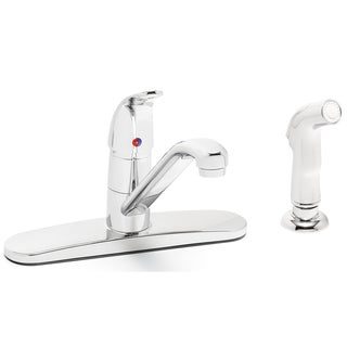 Speakman Commander Kitchen Faucet with Hose Spray