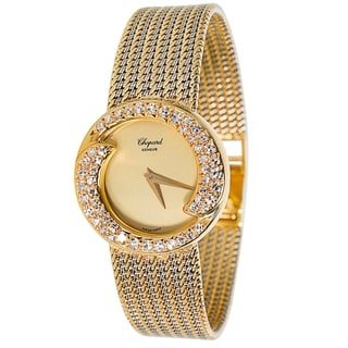 Chopard Diamond Bezel S-10-2867 Ladies Watch in 18K Yellow Gold