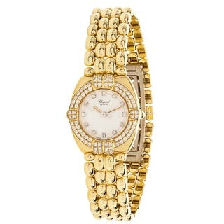 Chopard Gstaad 5229 Women's Watch in 18K Yellow Gold|https://ak1.ostkcdn.com/images/products/17075419/P23348654.jpg?impolicy=medium