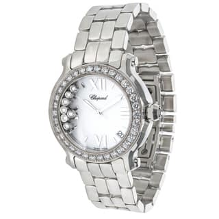Chopard Happy Sport 27/8478-20 Women's Watch in Stainless Steel|https://ak1.ostkcdn.com/images/products/17075423/P23348658.jpg?impolicy=medium