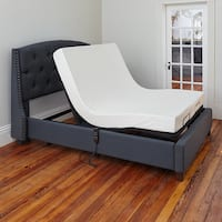 OSleep Adjustable Bed Base with Wired Remote