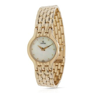 Concord Les Palais 28-62-264 Women's Watch in 14K Yellow Gold