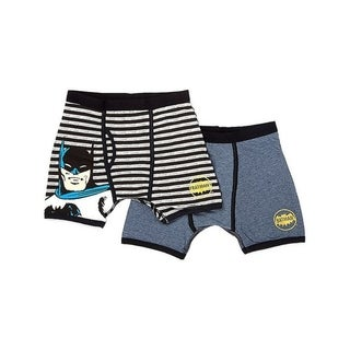 Batman Vintage Stripe 2pk boxer Briefs (Option: 4)