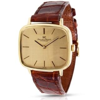 IWC Dress 2771 Men's Watch in 18K Yellow Gold