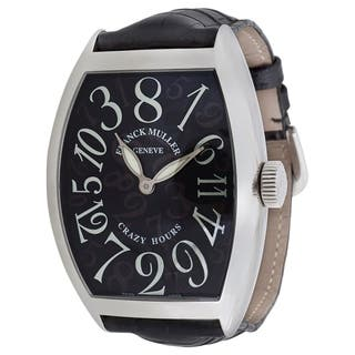 Franck Muller Crazy Hours 8880 CH Men's Watch in Stainless Steel|https://ak1.ostkcdn.com/images/products/17075563/P23348753.jpg?impolicy=medium