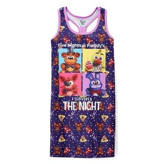 Five Nights at Freddy's 'I Survived' Nightgown - Girls|https://ak1.ostkcdn.com/images/products/17075653/P23348847.jpg?impolicy=medium