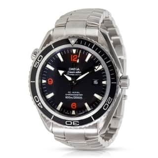Omega Seamaster Planet Ocean 2200.51 Men's Watch in Stainless Steel https://ak1.ostkcdn.com/images/products/17075717/P23348881.jpg?impolicy=medium