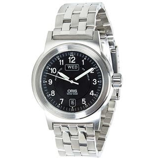 Oris BC 3 7500 Men's Watch in Stainless Steel|https://ak1.ostkcdn.com/images/products/17075734/P23348879.jpg?impolicy=medium