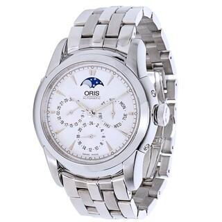 Oris Artelier 7546 Moon Phase Men's Watch in Stainless Steel