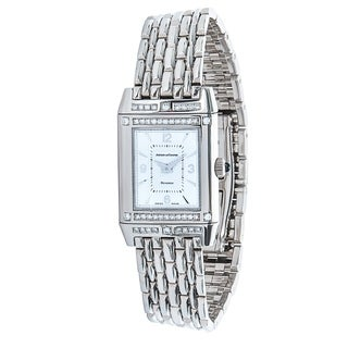 Jaeger LeCoultre Reverso Women's Watch in 18K White Gold