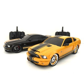 2.4GHZ Multi-Channels Remote Control Ford Shelby GT500 Super Snake Ford Mustang American Muscle Car (Set of 2)