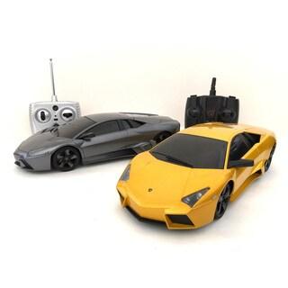 2.4GHZ Multi-Channels Remote Control Lamborghini Reventon Supercar (Set of 2)