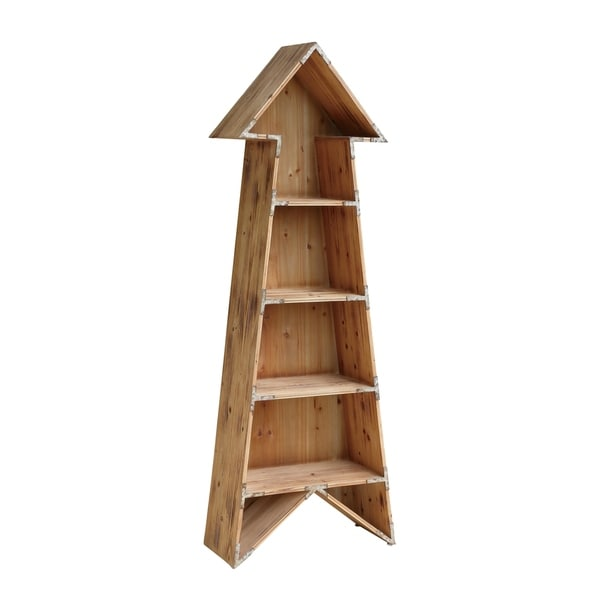 Chickasaw Wood Arrow Bookshelf