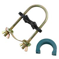 """Trampoline Enclosure Pole Connecter, Fits Poles up to 1.5"""" diameter, and up to 1.75"""" diameter leg (Set of 12)"""