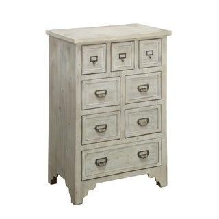 Falls Creek 8 Drawer Natual Finish Chest