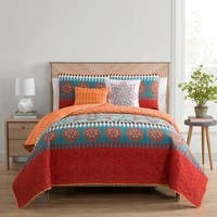 VCNY Home Ezra Reversible Quilt Set