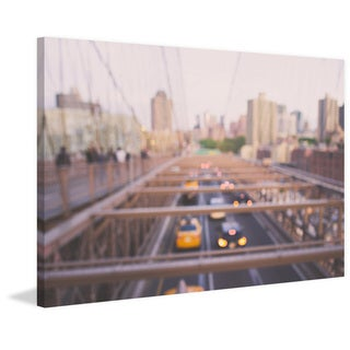 'Brooklyn Bound' Painting Print on Wrapped Canvas