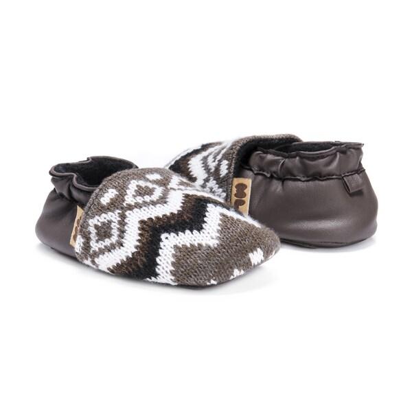 MUK LUKS® Zig Zag Moccasin Baby Soft Shoes