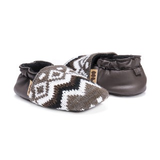 MUK LUKS® Zig Zag Moccasin Baby Soft Shoes