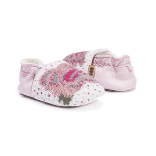 MUK LUKS® Pink Baby Soft Shoes