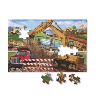 Melissa & Doug Building Site 48-piece Floor Puzzle
