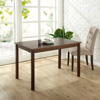 Priage Espresso Wood Dining Table