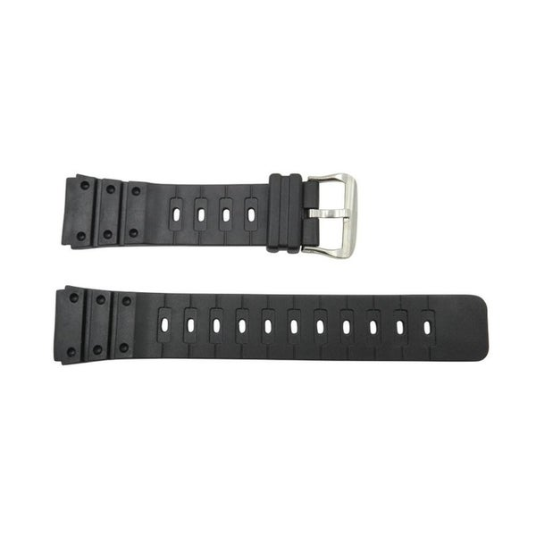 5c2c6bea5 Shop Don Taylor 20mm Black Rubber Watch Band Durable PVC Material - Free  Shipping On Orders Over  45 - Overstock - 17076467