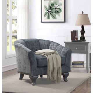 Kaitlyn Club Chair Vintage Blue/Grey