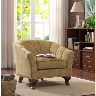 Kaitlyn Club Chair Vintage Gold