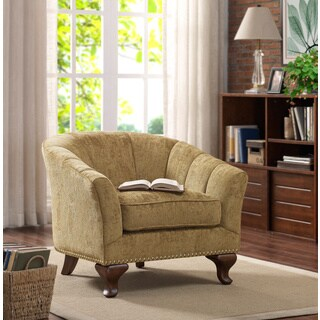 Kaitlyn Club Chair Vintage Gold