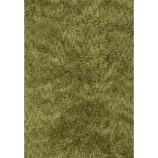 Luxury Shag Olive Rug (3x5)