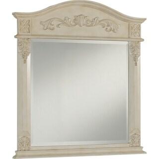Heritage Chelsea Antique White Mirror