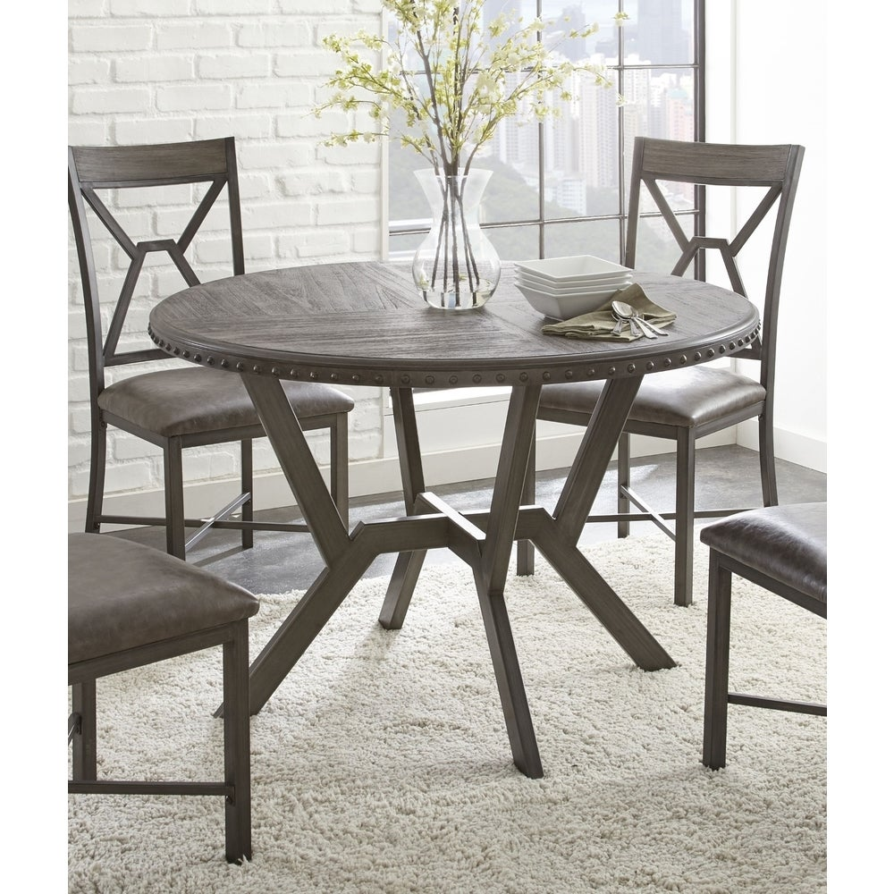 Asbury 45 Inch Round Dining Table By Greyson Living 30 Inches High X 45 Inches Wide X 45 Inches Deep On Sale Overstock 17076634