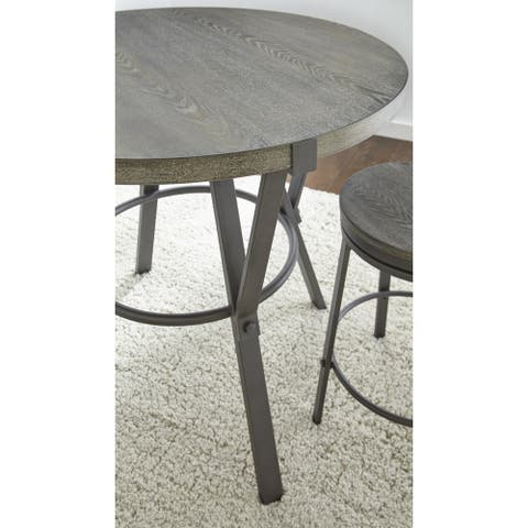 Perry Grey Round 42-inch Counter Height Dining Table by Greyson Living