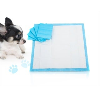 Pet Training Pads (30-, 50-, or 100-Pack Blue or Pink)