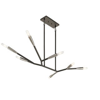 Kichler Lighting Branches Collection 7-light Black Chandelier