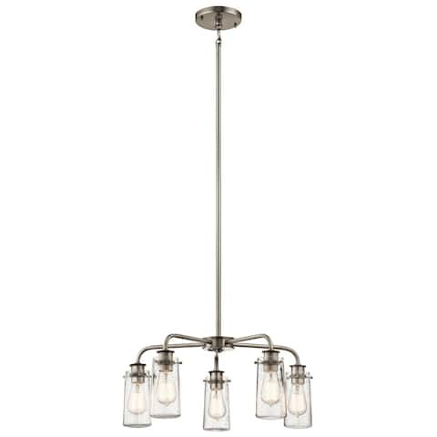 Kichler Lighting Braelyn Collection 5-light Pewter Chandelier