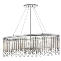 Kichler Lighting Piper Collection 6-light Chrome Oval Chandelier