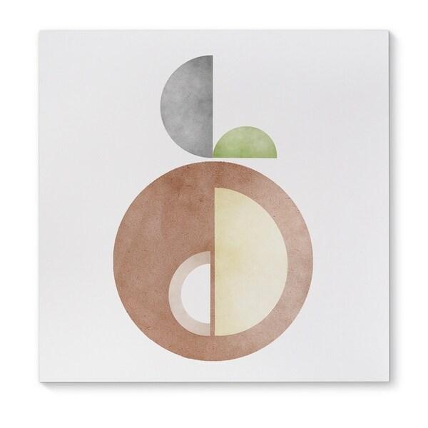 Kavka Designs Fruit Brown/Tan/Grey/Green Canvas Art