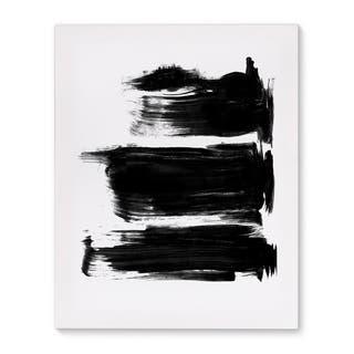 Kavka Designs Purpose Black/White Canvas Art