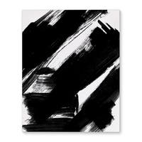 Kavka Designs Natural Law Black/White Canvas Art