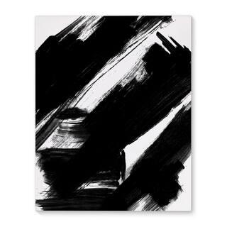 Kavka Designs Natural Law Black/White Canvas Art