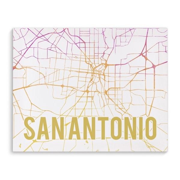 Shop Kavka Designs San Antonio Pink Sunset Pink Purple
