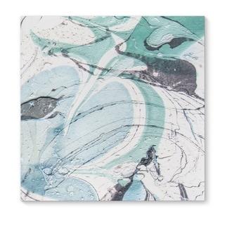 Kavka Designs Hibernas Blue/Grey Canvas Art