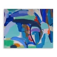 Kavka Designs Taco Truck Blue/Green/Orange Canvas Art