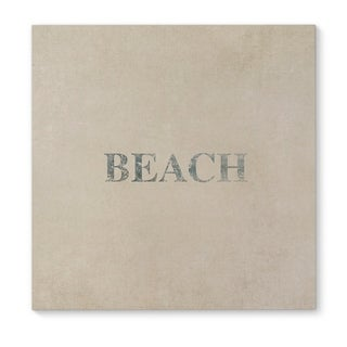 Kavka Designs Beach Blue Canvas Art