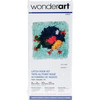 "Wonderart Latch Hook Kit 8""X8"""