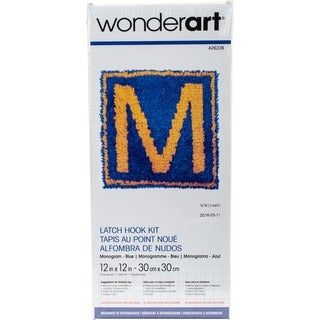 "Wonderart Latch Hook Kit 12""X12"""