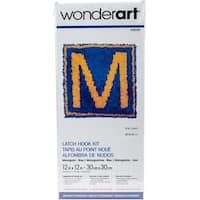 "Wonderart Latch Hook Kit 12""X12"""