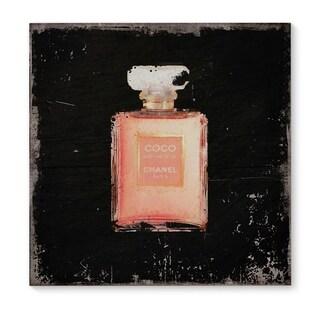Kavka Designs Coco Black/Blush Canvas Art